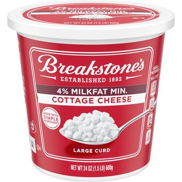 Breakstone's Large Curd 4% Milkfat Cottage Cheese