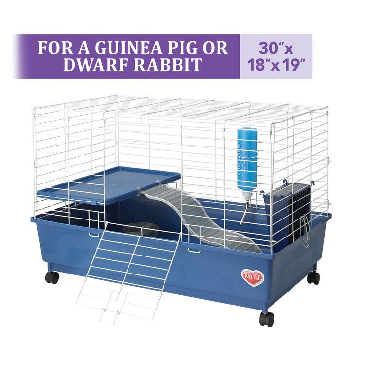 Kaytee Deluxe 30 X 18 2 Level Guinea Pig Cage Guinea Pig (ECOM)