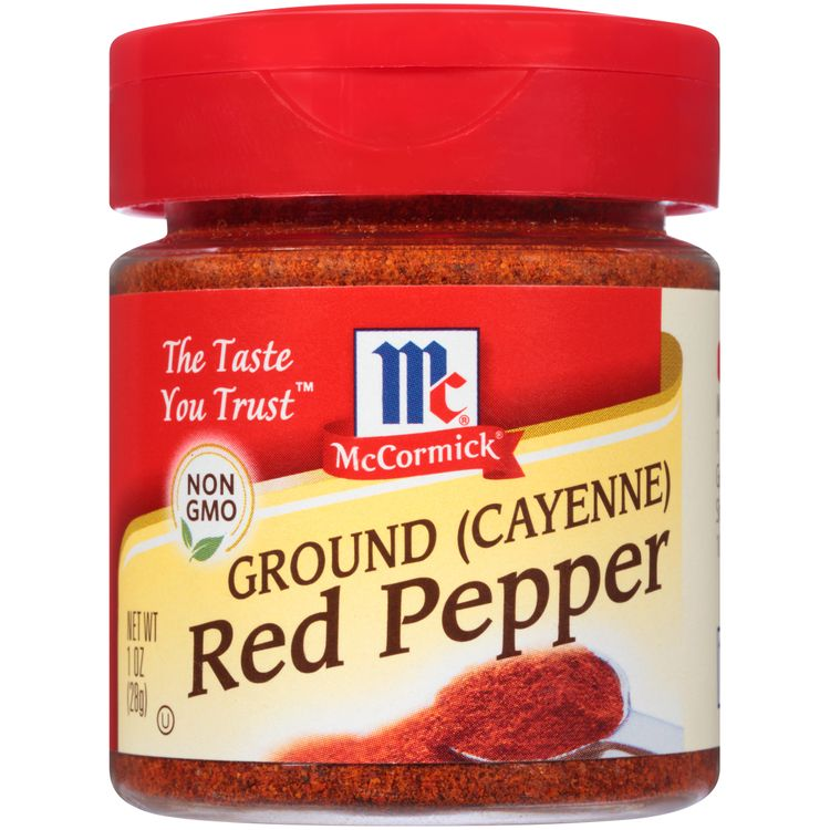 McCormick Ground Pepper Red, 1.75 Oz