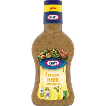 Kraft Lemon Herb Vinaigrette Salad Dressing (14 fl. oz. Bottle)