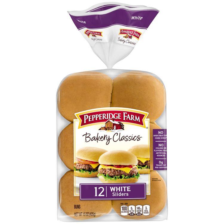 Pepperidge Farm® Bakery Classics White Slider Buns, 12-Pack Bag