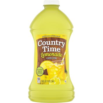 Country Time Lemonade Ready-To-Drink Soft Drink, Decaffeinated, 96 fl oz Bottle