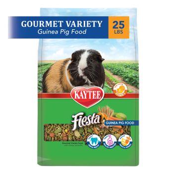 Kaytee Fiesta Guinea Pig Food 25 lb