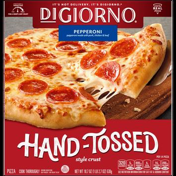 DiGiorno Hand Tossed Pizzeria Style Primo Pepperoni Frozen Pizza