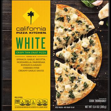 California Pizza Kitchen White Pizza