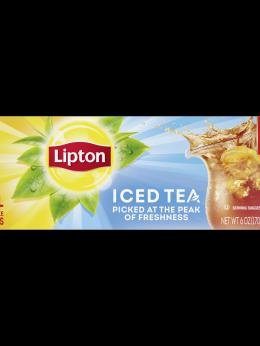 Lipton Iced Black Tea Family Size Tea bags