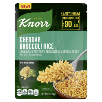 Knorr® Ready to Heat Cheddar Broccoli Rice