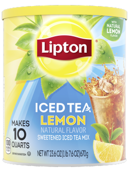 Lipton Lemon Iced Tea Mix