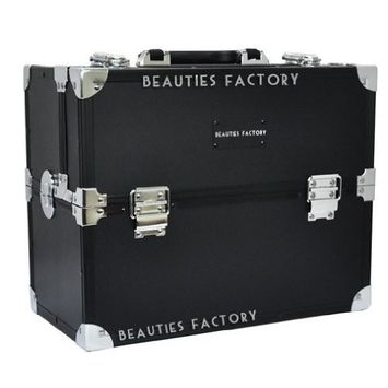 Pure Black Makeup Case (Tokyo Collections) CODE: #852 by Beauties Factory