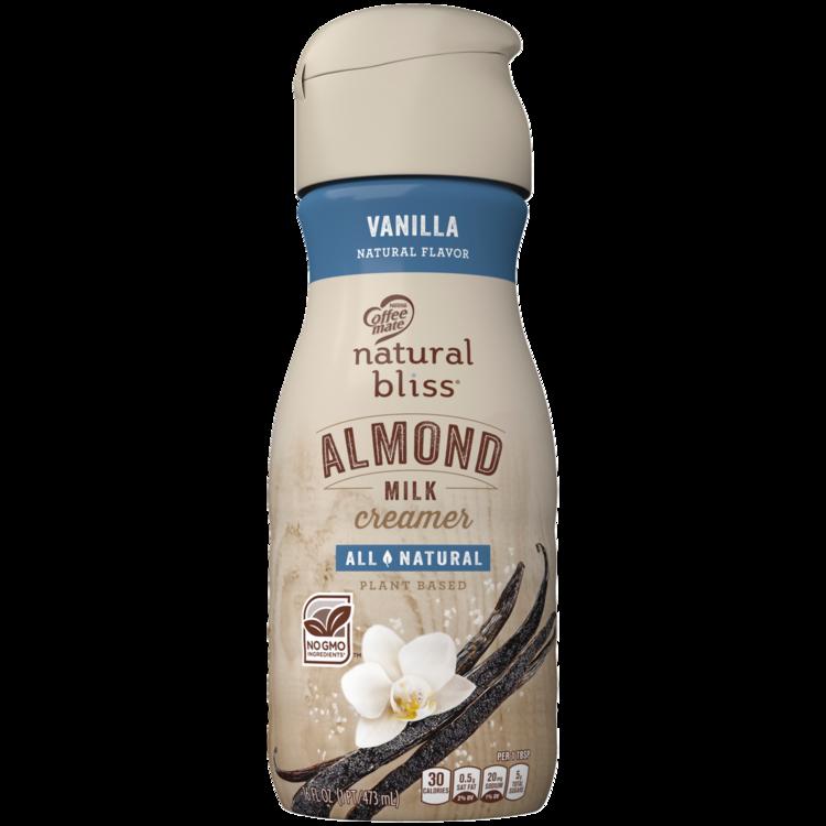 Coffee-mate Vanilla Almond Milk All-Natural Liquid Coffee Creamer