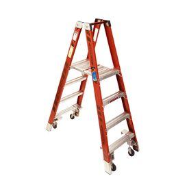 Werner Platform Ladder with Casters