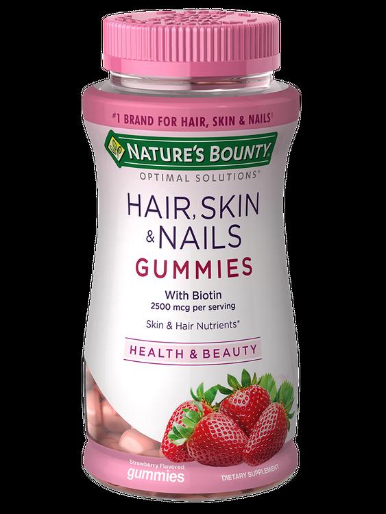 Natures Bounty Hair Skin & Nails 2,500 mcg of Biotin 80