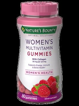 Natures Bounty Womens Multivitamin Gummies 80