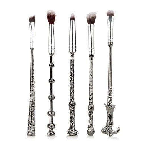 5 makeup brush sets Harry Potter make-up brush metal magic wings eye shadow brush beauty tools