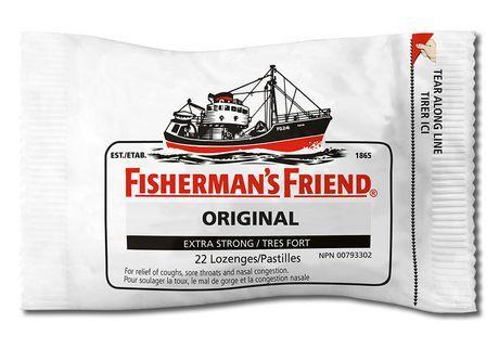 Fisherman's Friend Original Extra Strong Cough Suppressant Lozenges