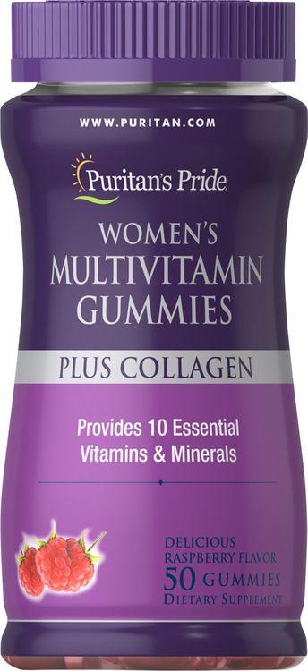Puritan's Pride Women Multi Gummy Plus Collagen-50 Gummies