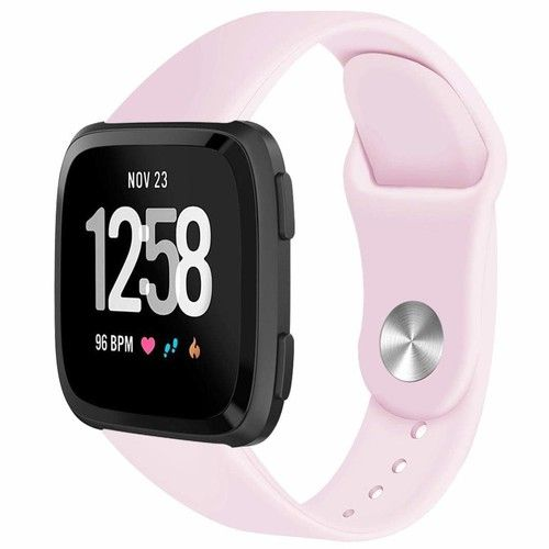 AutumnFall Fitbit Versa Accessory Bands,Soft Silicone Replacement Sport Classic Band Strap For Fitbit Versa Smartwatch