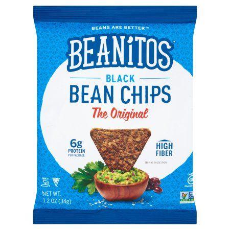 Beanitos, Inc. Beanitos, Chips Original Sea Salt, 1.2 Oz (Pack Of 24)