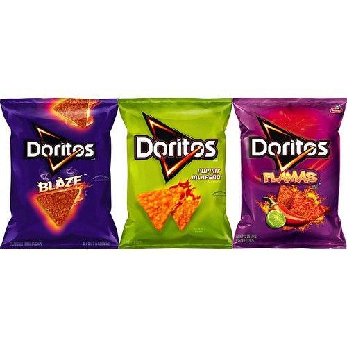 Doritos Mix Up Doritos Blaze, Popping Jalapeño & Flamas 3.12 Oz
