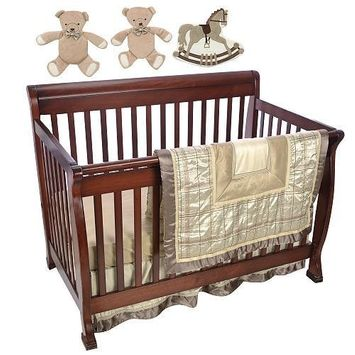F.A.O Schwarz 7 Piece Manhattan Crib Set