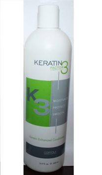 Keratin Factor 3 Keratin Enhanced Conditioner 16.9 oz