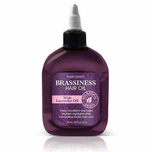 Hair Chemist Brassiness Hair Oil with Lavender Oil 2.5 ounce