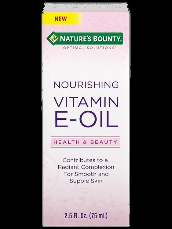 Natures Bounty Nourishing Vitamin E Oil 2.5 oz Liquid