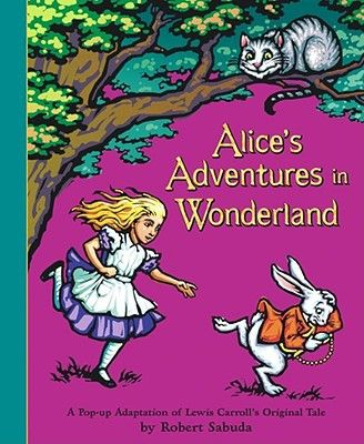 Alice's Adventures in Wonderland - (Classic Collectible Pop-Up) by Lewis Carroll (Hardcover)