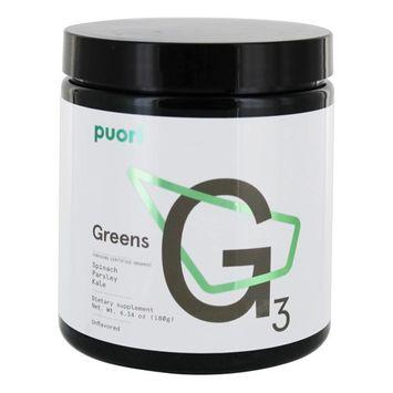 G3 Greens Powder Unflavored - 6.34 oz.