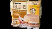 Jimmy Dean Delights Applewood Smoke Chicken Sausage, Egg Whites & Cheese Muffin Sandwiches