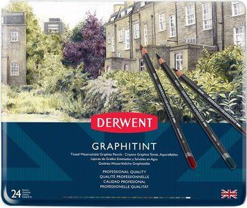 Derwent Graphitint Tinted Graphite Pencils Tin