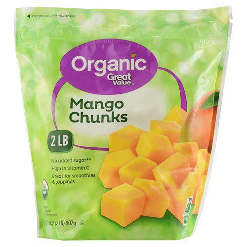Great Value Organic Mango Chunks, 32 oz