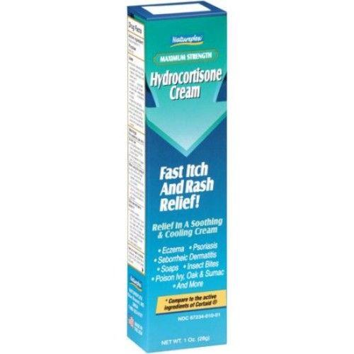 Natureplex Maximum Strength Hydrocortisone Cream, 1 Oz