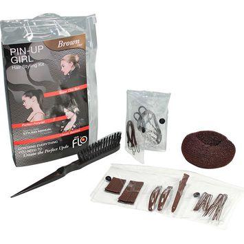 Lava Flo Pin Up Girl Kit, Brown