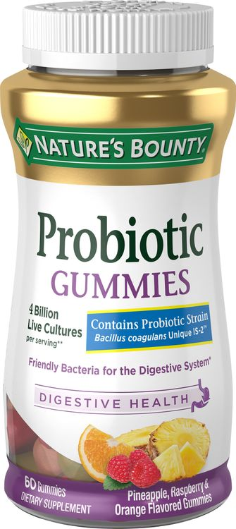 Natures Bounty Probiotic Gummies 60