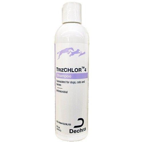 Dechra TrizChlor 4 Shampoo, 8-Ounce