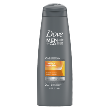 Dove Men+Care Thick & Strong Fortifying 2-in-1 Shampoo for Thin Hair