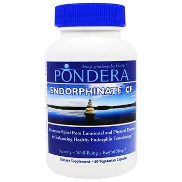 Pondera, Endorphinate CF, 60 Veggie Caps