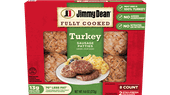 Jimmy Dean Fully Cooked Turkey Sausage Patties