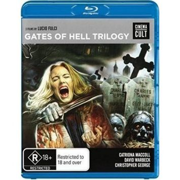 Alliance Entertainment Llc Gates Of Hell Trilogy (blu-ray Disc) (3 Disc)