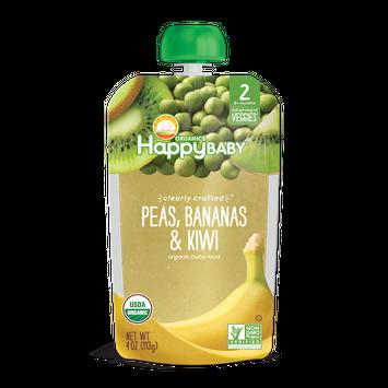 Happy Baby® Organics Clearly Crafted Peas, Bananas & Kiwi