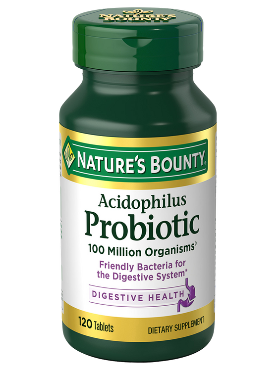 Natures Bounty Acidophilus Probiotic 120