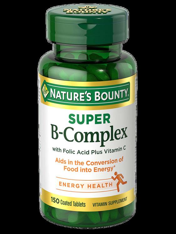 Natures Bounty Super B-Complex 150