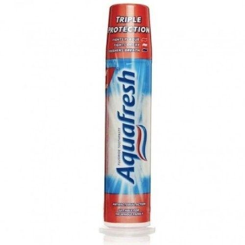 Aquafresh Fresh & Minty Whitening Pump Action 3 in 1 Formula Toothpaste 100 ml by Aquafresh Family