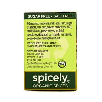 SPICELY Organic Tikka Masala Seasoning, 0.4 OZ