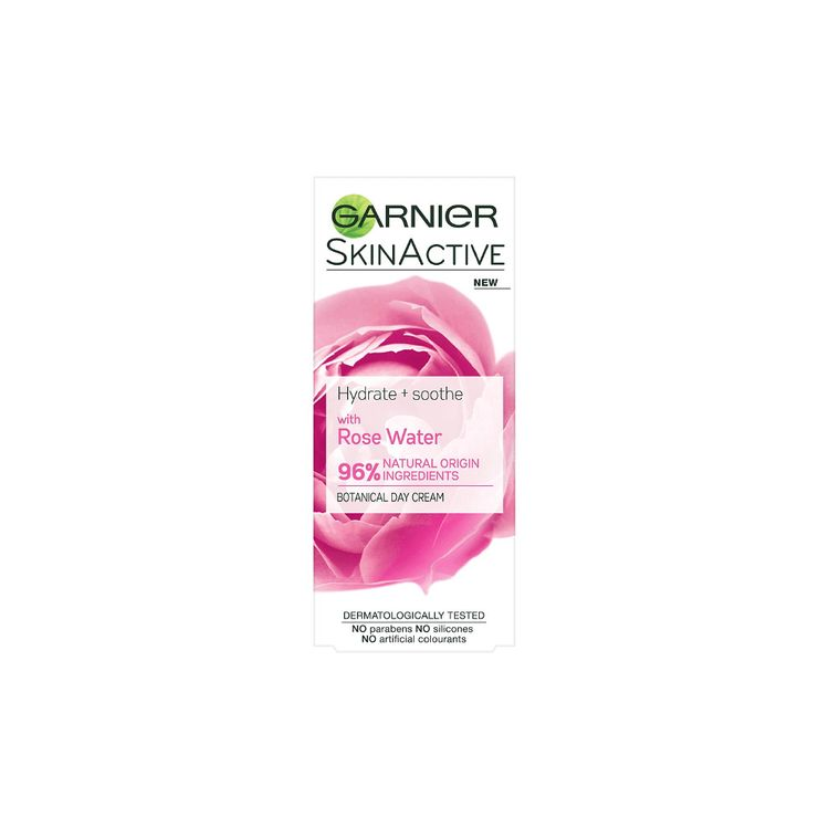 Garnier SkinActive Hydrate & Soothe with 96% Rose Water Day Cream 50ml