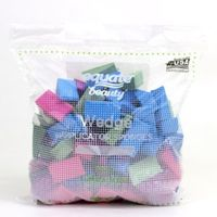 Equate Beauty Wedge Applicator Sponges, Latex Free, 100 Ct.