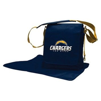 NFL San Diego Chargers LilFan Diaper Bag