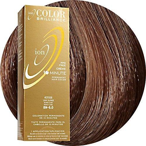 Ion 4N Medium Brown Permanent Creme Hair Color 4N Medium Brown