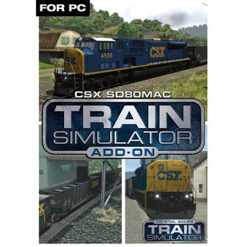 Dovetail Games Train Simulator Add-On - CSX SD80MAC (PC)(Digital Download)